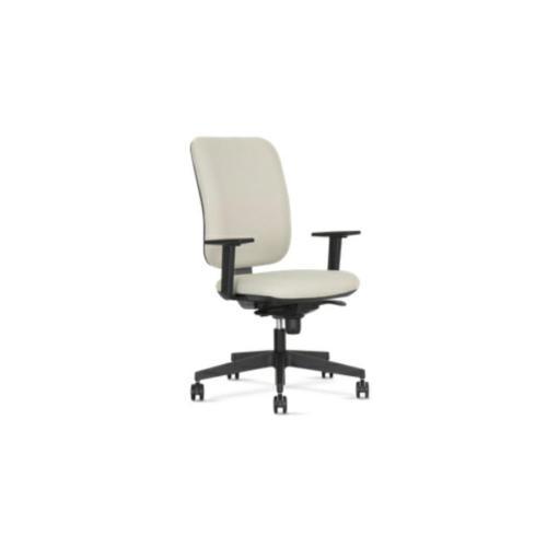Bürostuhl Modell Ga, Synchronmechanik, Sitztiefenverstellbar, Armlehnen