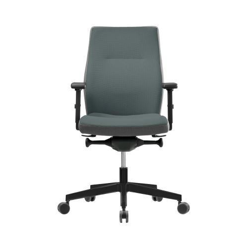 Bürostuhl Modell So, Synchronmechanik, Gewichtseinstellung, Sitzneige u. Sitztiefenverstellung, MIndestabnahme 10 Stück