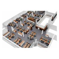 Callcenter mit Akustikwänden und Deckenabsorber