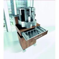 Cateringwagen mit Besteckkasten, Espressomaschine